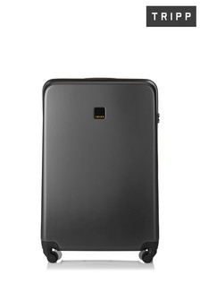 Tripp Style Lite Hard Graphite Large 4 Wheel Suitcase 79cm