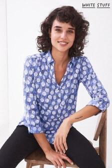 White Stuff Annie Jersey Shirt