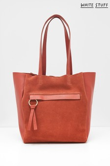 White Stuff Ruby Leather Tote