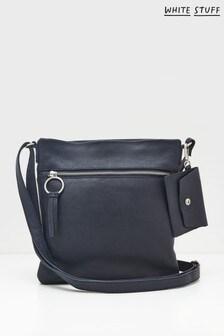 White Stuff Lottie Leather Cross-Body Bag