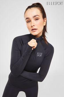 ELLE Sport 1/4 Zip Long Sleeve Performance Top