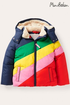 Boden Blue Cosy Padded Jacket