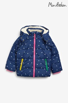 Boden Blue Cosy Two-in-One Padded Jacket