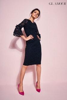 Glamour Lace Pencil Dress