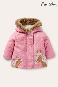 Boden Pink Three-In-One Jacket