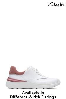 Clarks White Rose Combi SprintLiteLace Shoes