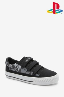 Triple Strap Bump Toe Shoes