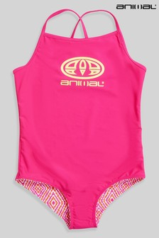 Animal Girls Vacation Recycled Swimsuit