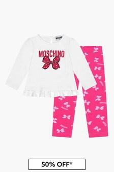 Moschino Kids Baby Girls Pink Set