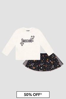 Moschino Kids Baby Girls Black Set