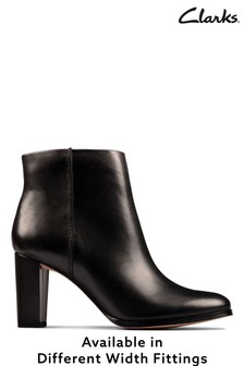 Clarks Black Kaylin Fern 2 Boots
