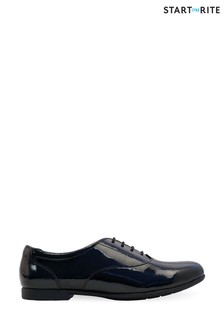 Start-Rite Talent Black Patent Leather Lace-Up Shoes