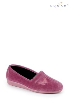 Lunar Pink Butterfly Slippers