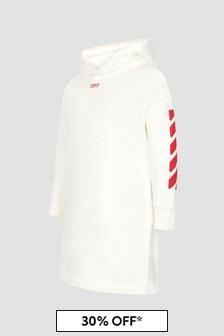 Off White Girls White Dress