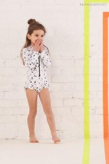 Angel & Rocket Grey Leopard Print Swimsuit