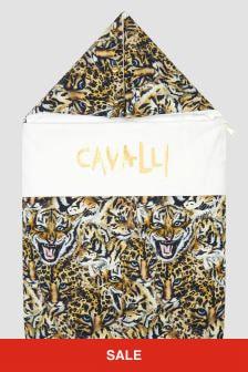 Roberto Cavalli Baby Leopard Print Sleep Bag