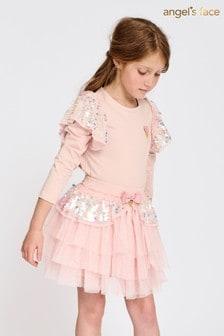 Angels Face Pink Ziggy Blush Skirt