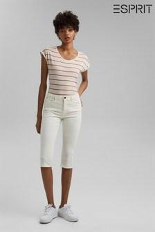 Esprit Organic Cotton Capri Trousers