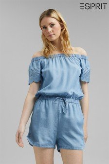 Esprit Embroidered Playsuit