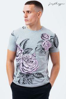 Hype. Lilac Rose Mens T-Shirt