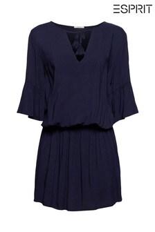 Esprit Blue Beach Dress