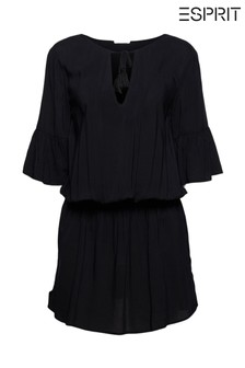 Esprit Black Beach Dress