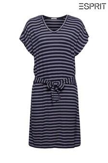 Esprit Blue Jersey Beach Dress