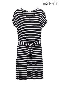 Esprit Black Jersey Beach Dress