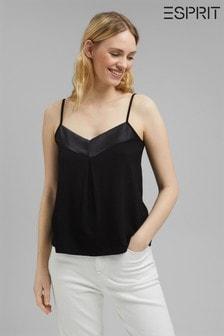 Esprit Black Jersey Top