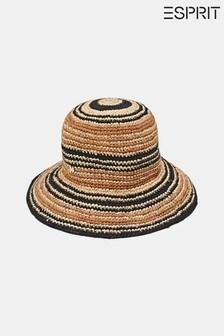 Esprit Beige Raffia Sun Hat