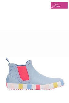 Joules Blue Jnr Rainwell Short Height Casual Welly