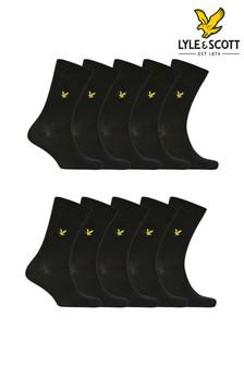 Lyle & Scott Socks 10 Pair Multi Pack