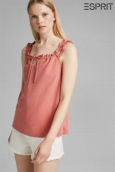 Esprit Pink Drawstring Sun Top