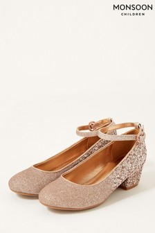 Monsoon Ombre Glitter Heeled Shoes