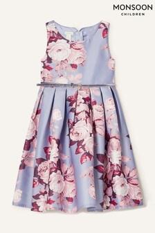 Monsoon Alana Rose Print Dress