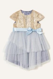 Monsoon Baby Sequin Safire Dress
