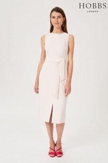 Hobbs Pink Kaia Dress