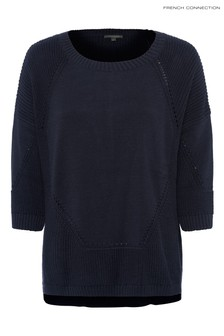 French Connection Blue Mozart Jumper