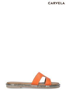 Carvela Comfort Orange Sophia Sandals