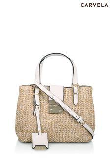 Carvela Cream Micro Mandy Bag