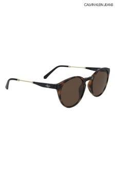 Calvin Klein Jeans Round Sunglasses