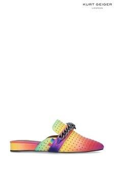 Kurt Geiger London Green Chelsea Mule Shoes