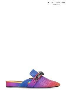 Kurt Geiger London Pink Chelsea Mule Shoes