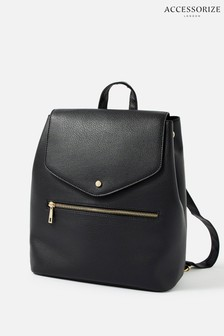 Accessorize Black Kylie Drawstring Backpack