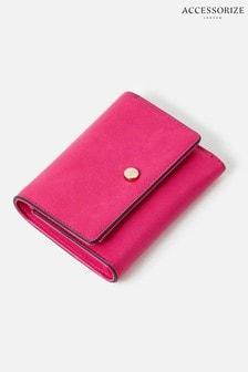 Accessorize Pink Stella Croc Purse