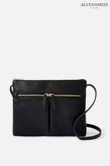 Accessorize Black Ella Cross-Body Bag