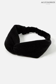 Accessorize Black Lounge Knit Bando