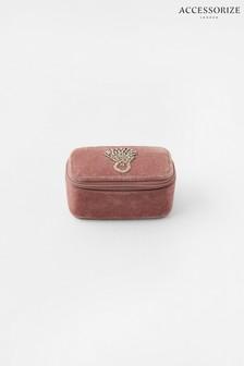 Accessorize Pink Mini Ring Jewellery Box