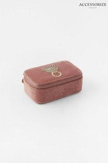 Accessorize Pink Medium Ring Jewellery Box