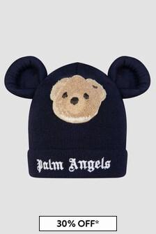 Palm Angels Boys Navy Hat